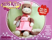 Miss Kitty Sock Monkey Kit