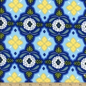 Mission View Cotton Fabric - Cobalt ABJ-12058-72
