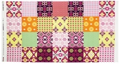Mission View Cotton Fabric Panel - Sorbet ABJ-12054-239