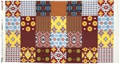 Mission View Cotton Fabric - Terracotta ABJ-12054-92