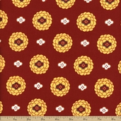 Mission View Cotton Fabric - Terracotta ABJ-12059-92
