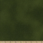 Mixmasters Dot To Dot Cotton Fabric - Forest