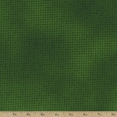 Mixmasters Dot To Dot Cotton Fabric - Green