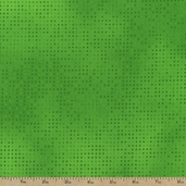Mixmasters Dot to Dot Cotton Fabric - Kiwi