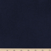 Mixmasters Dot To Dot Cotton Fabric - Navy