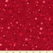 Mixmasters Fizz Cotton Fabric - Cherry