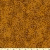 Mixmasters Scribbles Cotton Fabric - Caramel