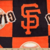 MLB Fleece San Francisco Giants - Orange