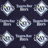 MLB Fleece Tampa Bay Rays - Blue