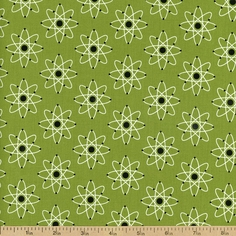Mod Geek Atomic Cotton Fabric - Atmosphere