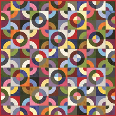 Moda Free Quilt Pattern - Puzzle Pieces Pattern - Beverlys.com