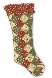 Moda Free Sewing Pattern - Secret Santa Stocking Pattern