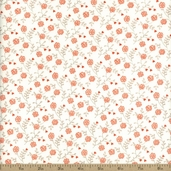 Moda Table For Two Posies Cotton Fabric - Diamond