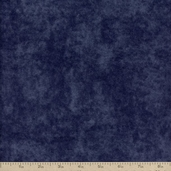 Moda Winter Forest Flannel Fabric - Navy Marble
