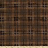 Moda Wool and Needle Flannel II Large Plaid - Brown