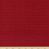 Moda Wool and Needle Flannel II Loden Plaid - Red