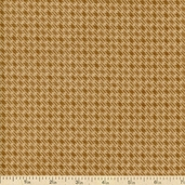 Moda Wool and Needle Flannel II Loden Plaid - Tan