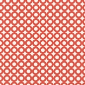 Modern Whimsy Cotton Fabric - Saffron Circles