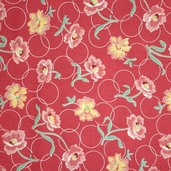 Momma's Apron Strings Fabric - Pink