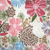 Mon Sheri Cotton Fabric - Blossom