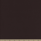 Montauk Twill Cotton Fabric - Chocolate