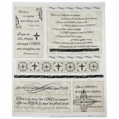 Mood Swings Faith Panel Cotton Fabric