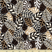 Moonstruck Leaves Cotton Fabric 35079-2