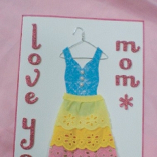Mother's Day Dress Card