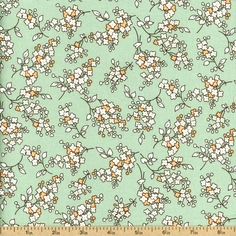 Mother's Melodies Cotton Fabric - Aloe ADZ-12568-36