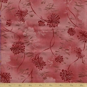 Mrs. March's Collection Cotton Fabric - Red