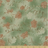Mrs. March's Collection Cotton Fabric - Sage