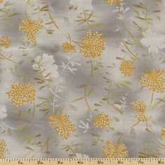 Mrs. March's Collection Twigs Cotton Fabric - Antique