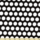 Mystique Dot Cotton Fabric Black C3084