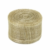 Natural Sinamay Ribbon 1.5 in. 10yds spool