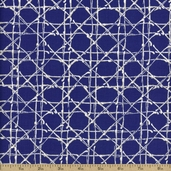 Nature's Palette Caning Cotton Fabric - Purple