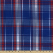 Newport Plaids Cotton Fabric - Americana CUD-13073-202