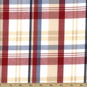 Newport Plaids Cotton Fabric - Primary CUD-13077-204