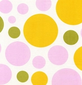 Nicey Jane by Heather Bailey for Free Spirit Fabrics - Dream Dot - Chlementine