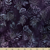 Northwoods Batik Cotton Fabric - Wineberry AMD-9364-232