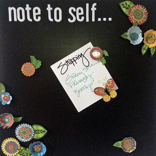 Note to Self Memo Board