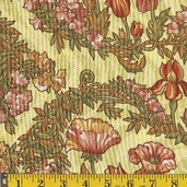 Nouvelle Melodie Cotton Fabric  - autumn