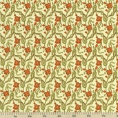 Nouvelle Melodie Cotton Fabric - Autumn EUJ-5882-191 - Clearance