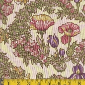 Nouvelle Melodie Cotton Fabric  - jewel