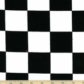 Novelty Checker Cotton Fabric
