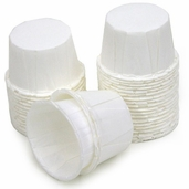Nut and Party Cups 36 piece - White