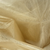 Nylon Organdy Fabric - Gold