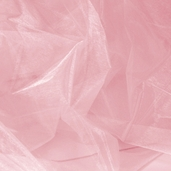 Nylon Organdy Fabric - Pink