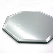 Octagon Craft Mirror - Bevel Edge 6 in - 3 Pkgs