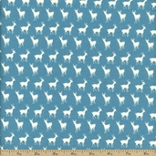 Oh Deer! Cotton Fabric - Aqua 16076-20