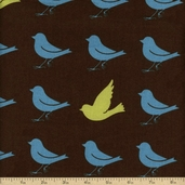 Oh Deer! Cotton Fabric - Brown 16072-22
